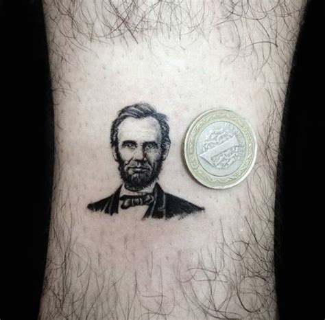 lincoln tattoo abraham lincoln portrait
