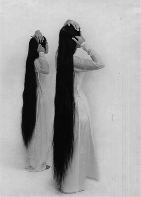 long black hair on Tumblr