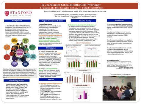 research paper poster papers and presentations evaluation and research sjusd