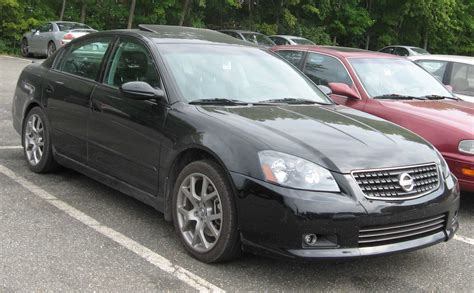 2006 Nissan Altima Se R Nissan Colors
