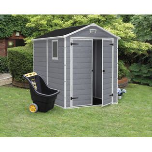 Keter 6 X 8 Storage Shed by Keter 213413 Manor Large 6 X 8 Ft Resin Outdoor Yard