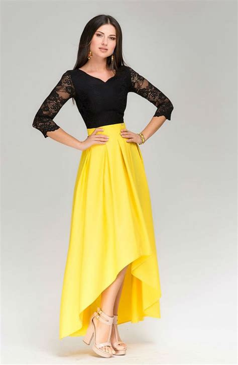 Yelloni Dress black and yellow dress dress fa