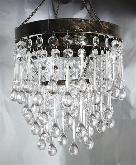 tear drop chandelier 3 tier acrylic tear drop chandelier