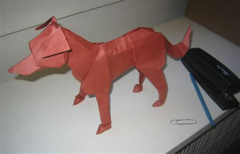 How To Make A Paper Puppy - the year of the origami mit admissions