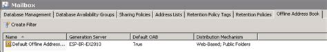 If Necessary Move The Oab Generation To Another Mailbox Server | how to remove an exchange 2010 public folder database