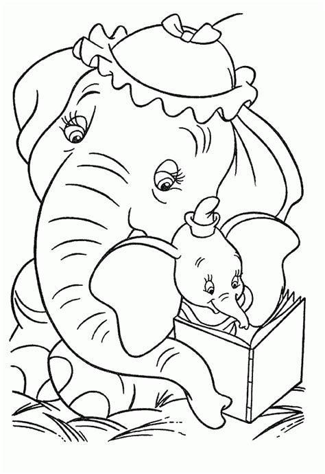 Dumbo Coloring Pages Coloringpagesabc Com Dumbo Coloring Pages