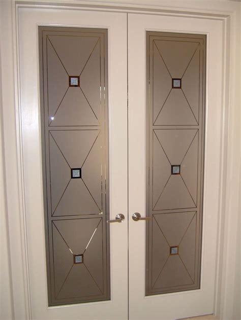 frosted glass door inserts cross hatch grommets door glass inserts sans soucie