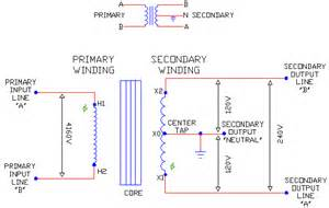 1 phase schematic single coils tapped sec ecn electrical forums