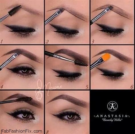 the guide to making instagram makeup trends wearable how to use anastasia beverly hills brow kit fab fashion fix