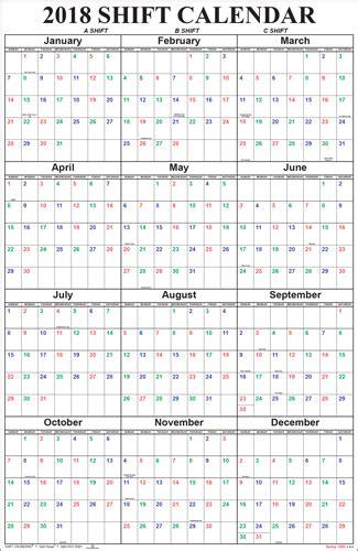 Shift Schedule Calendar Firefighter Shift Calendar Tolg Jcmanagement Co