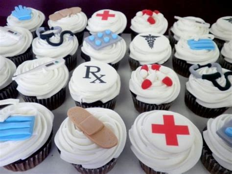 Nursing Cupcake Decorations by Doctor Cupcakes Cakecentral