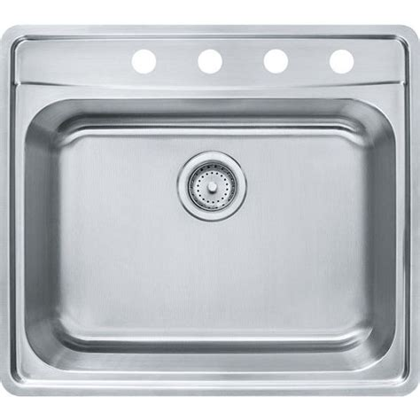 where are franke sinks made evolution single bowl drop in kitchen sink with c deck 1