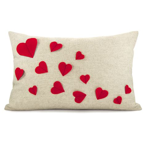 Pillow Ideas by 20 Charming Handmade S Day Pillow Designs