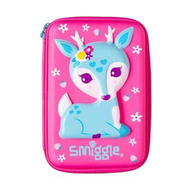 Tempat Pensil Pony Pink jual smiggle deer hardtop pencil tempat pensil pink harga kualitas terjamin