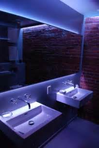 bathroom mirrors with led lights 8 best led strip lights in bathrooms images on pinterest