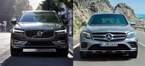volvo xc60 vs mercedes glc match du salon de 232 ve 2017 nouveau volvo xc60 vs