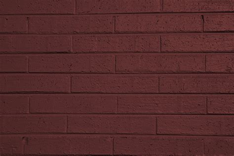 brownish painted brick wall texture picture free photograph photos domain