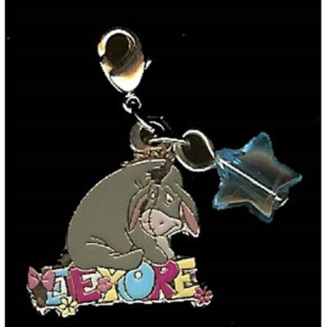 your wdw store disney dangle charm eeyore on name