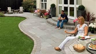 Stone Slate For Backyard Fairstone Riven Harena Garden Paving Marshalls Co Uk