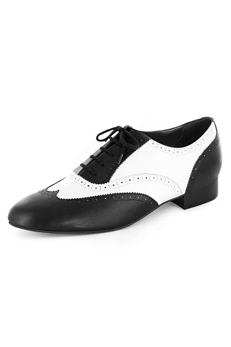 swing dance shoes london men s black white dance shoes dance rite