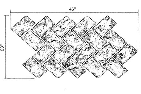 brick pattern sketch enhanced concrete design of pennsylvania presents many