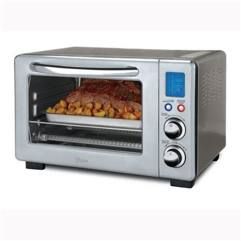 Countertop Oven Walmart by Oster 6 Slice Digital Countertop Oven With Convection
