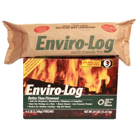 enviro log earth friendly logs heating cooling