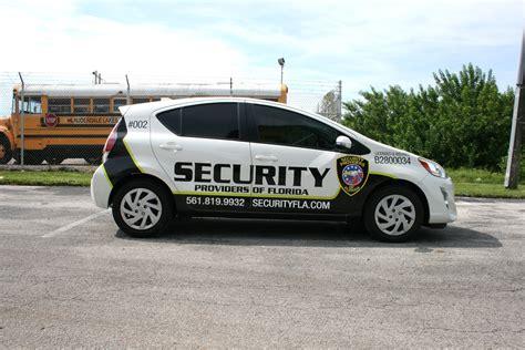 in car security boynton florida security vehicle graphics