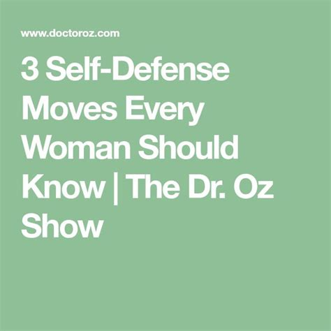 8 Self Defense Tips Every Should by Best 25 Self Defense Ideas On Self