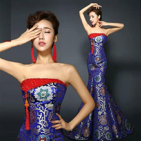 Brocade Dress Wd T1310 1 popular traditional wedding dress buy cheap traditional wedding dress lots from