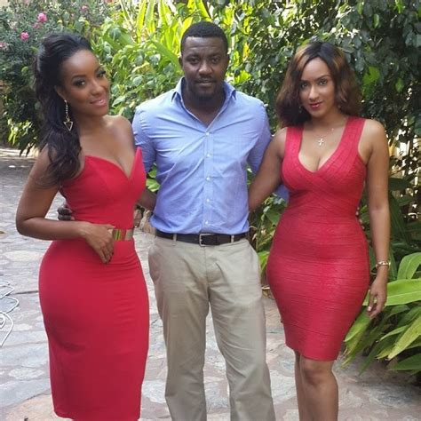 Eyecandy: Juliet Ibrahim & Joselyn Dumas Sizzle In Red   cscmajor