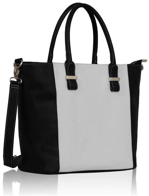 Black Bag wholesale luxury black white tote bag