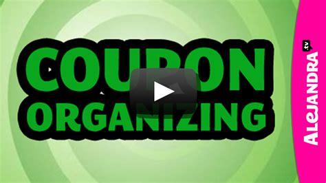 meet alejandra 187 alejandra tv video how to organize coupons