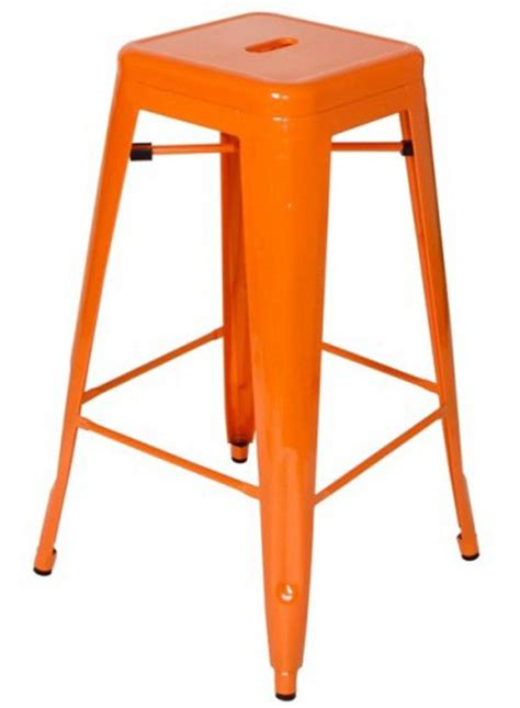 Stool Is Orange by Orange H Stool By Xavier Pauchard Chairblog Eu