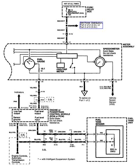 2001 Isuzu Rodeo Fuel Level Sensor Isuzu Rodeo Ignition Wiring Diagram Isuzu Free Engine