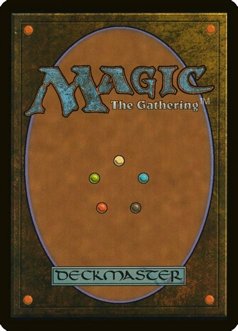 and the magic l card back mtg wiki