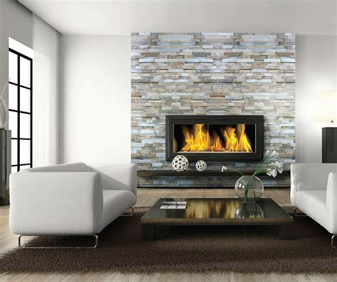 stacked stone fireplace ideas family room rustic with