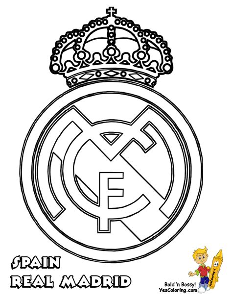 real madrid colors soccer coloring pages italy germany spain uefa football