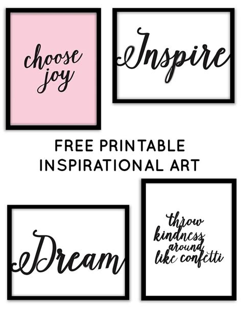 printable stencil quotes best 25 inspirational wall art ideas on pinterest free