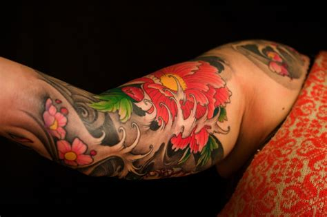 japanese flower tattoo for men image detail for the map tattoos custom