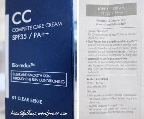 Iope Cc 01 Clear Beige iope complete care cc paperblog