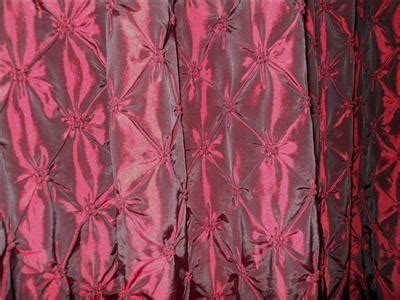 kravet faux silk drapes curtains burgundy red pleated top kravet faux silk drapes curtains burgundy red pleated top