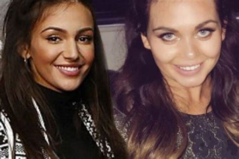 michelle keegan hairstyles half up half down scarlett moffatt takes style tips from michelle keegan as