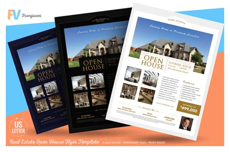 15 custom real estate open house flyer templates