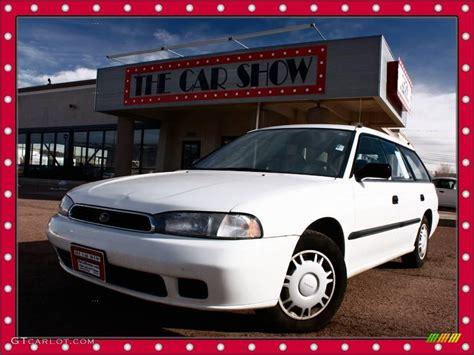 white subaru wagon 1997 white subaru legacy l wagon 24588773 gtcarlot