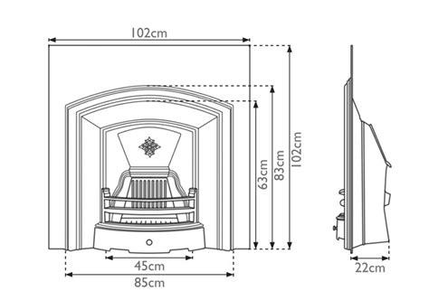 london plate cast iron fireplace inserts carron