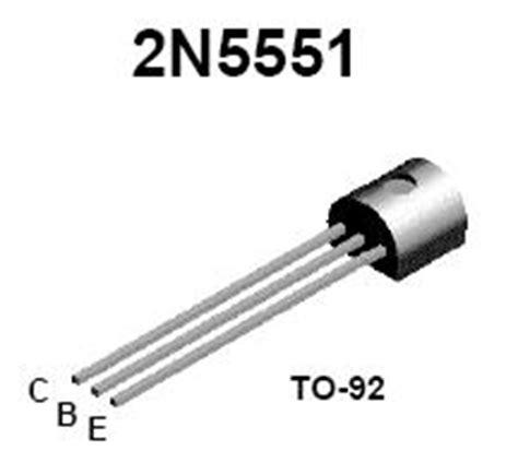 2n5551 Npn Transistor 2n5551 npn high voltage transistor nightfire electronics llc