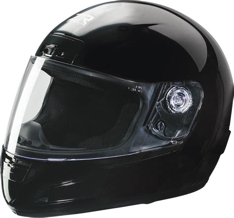 Z1r Strike Full Face Youth Motorcycle Helmet Black