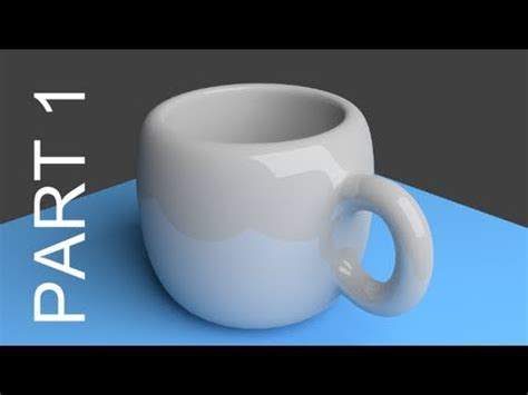 blender tutorials video beginners blender tutorial for beginners coffee cup 1 of 2 youtube