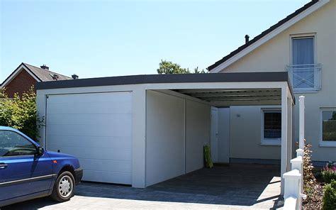 fertiggarage mit carport fertiggaragen preiswert und flexibel mc garagen